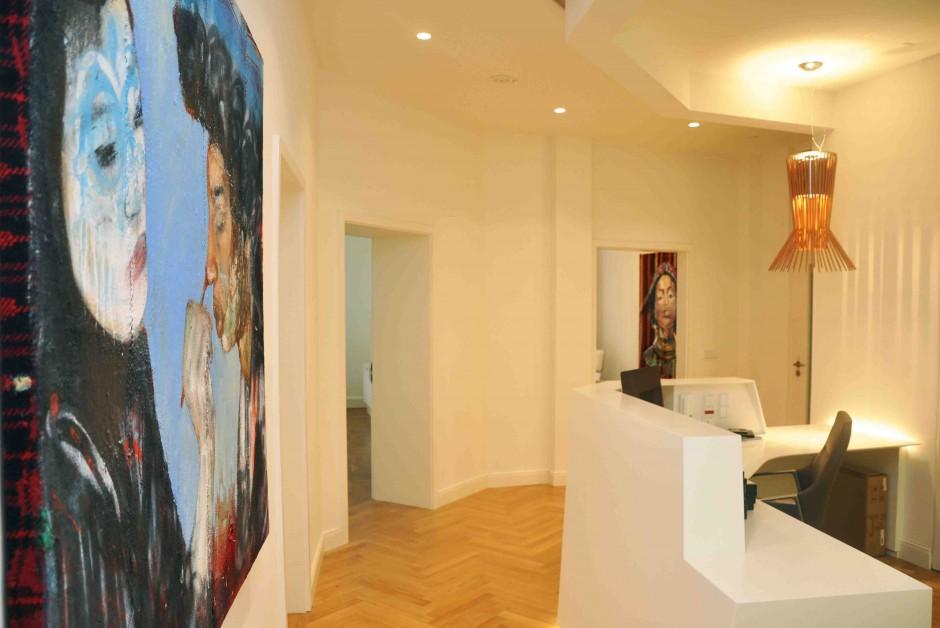 Installation view   Activate Matrjoshka   at Surgery Dr. Yusuf Yildirim, Baden-Baden   2015